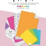 Basics paper pad Summer Time by Karin Joan