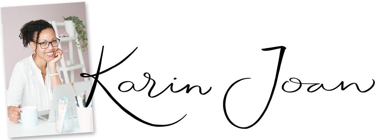 Karin Joan handtekening