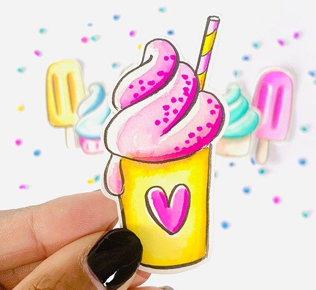 sweet paper milkshake1